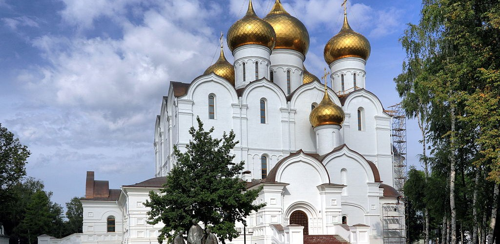 Photo Yaroslavl Cathedral of the Dormition Credit http://commons.wikimedia.org/wiki/User:Alexxx1979