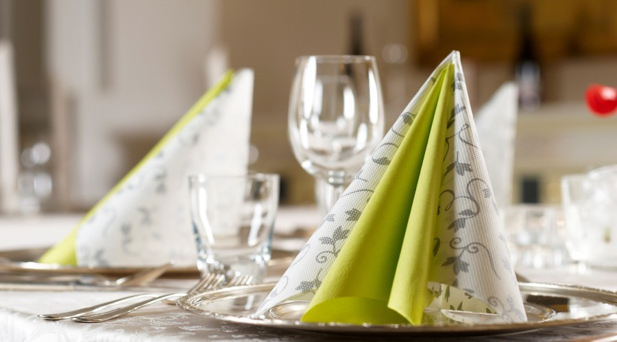Paloma products : luxury napkins. Credit photo Paloma