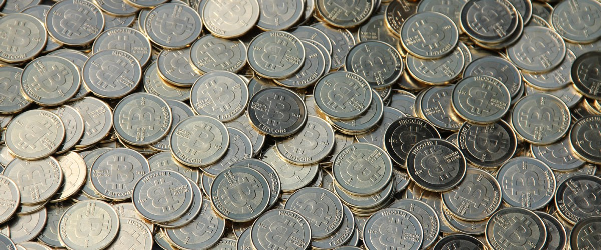 Bitcoins de Casascius (Photo libre de droits)