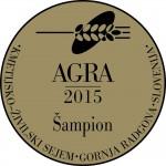 Logo du salon Agra2015, Slovénie