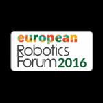 European Robotics Forum 2016, Ljubljana, Slovénie. Logo